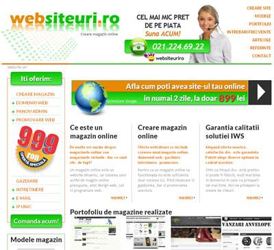 IWS relanseaza site-ul www.websiteuri.ro